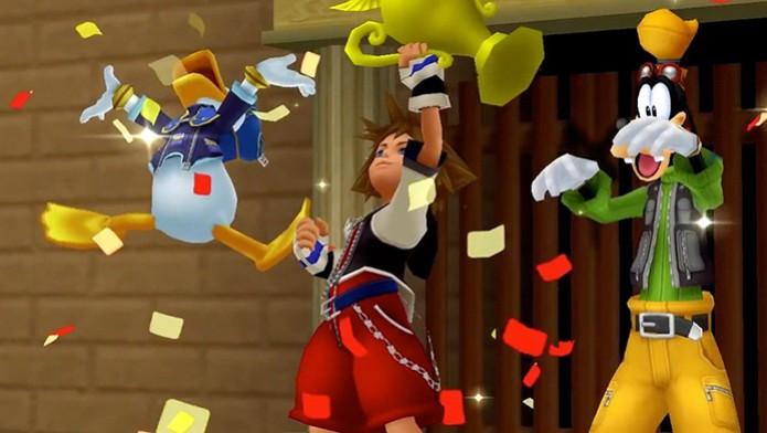 Kingdom Hearts HD 2.5 Remix chega em dezembro e tem trailer revelado (Foto: Divulgação) (Foto: Kingdom Hearts HD 2.5 Remix chega em dezembro e tem trailer revelado (Foto: Divulgação))