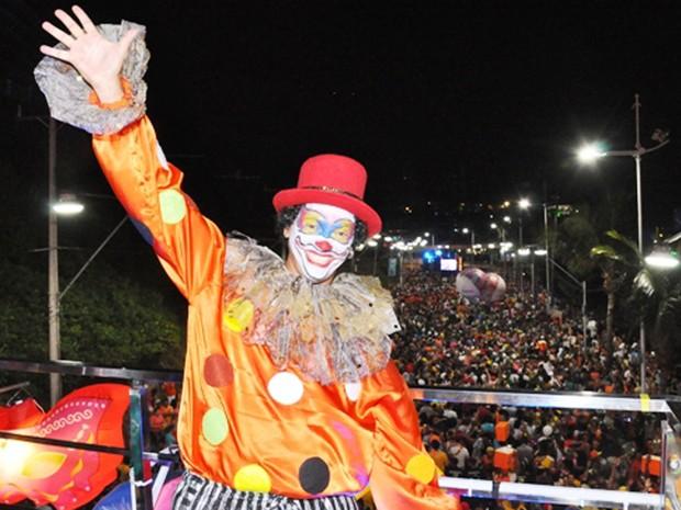 Bloco tem tradição de receber foliões fantasiados  (Foto: Genilson Coutinho/ Divulgação)