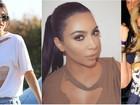Blusa 'podrinha' rasgada está na moda e clã Kardashian já está usando