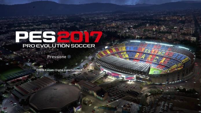 Confira os jogadores genéricos da demo de PES 2017 (Foto: Reprodução/Felipe Vinha)