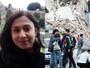 Estudante brasileira relata tensão (Priscila Haydée/ Arquivo Pessoal e Remo Casilli / Reuters)