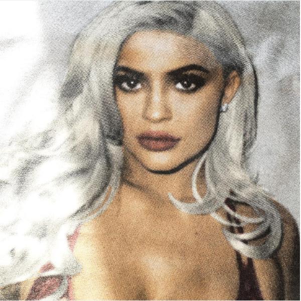 Uma foto do ensaio de Kylie Jenner com o fotógrafo Terry Richardson (Foto: Instagram)