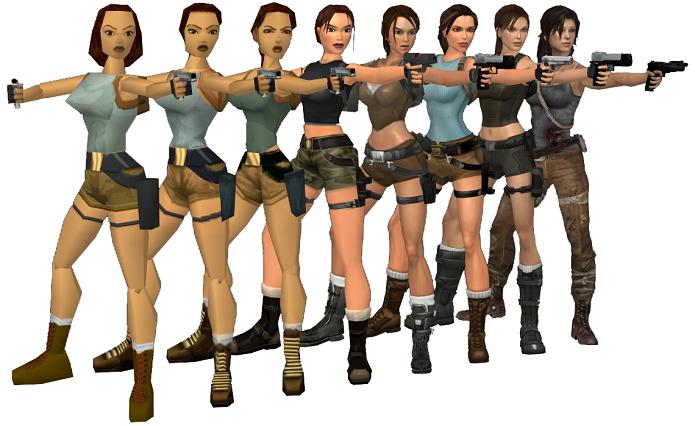 Seios são característica marcante de Lara (Foto: Divulgação)