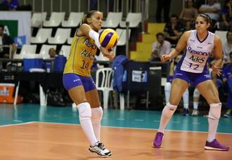 Fabi e Natália, Rio de Janeiro, Superliga (Foto: Marcio Rodrigues / MPIX)
