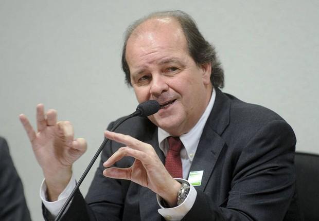 O ex-diretor da Petrobras, Jorge Zelada, presta depoimento da CPI da Petrobras que investiga esquema de corrupção (Foto: Agência Brasil/Arquivo)