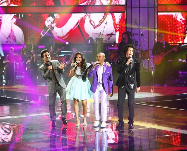Finalistas cantam Grande Final (Foto: The Voice Brasil/TV Globo)