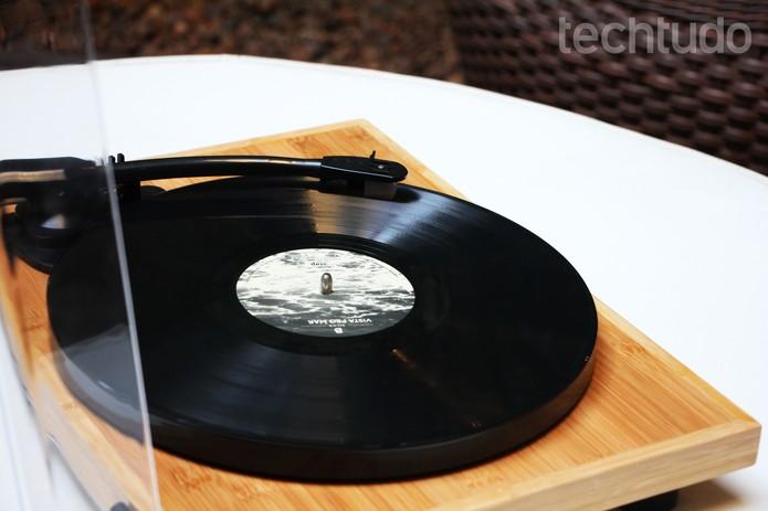 Vitrola Diamond Echo Vintage (Foto: Luciana Maline/TechTudo)
