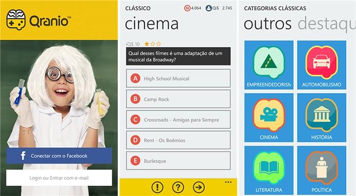 Qranio é um aplicativo de perguntas e respostas para Windows Phone no qual usuário pode ganhar prêmios (Foto: Divulgação/Windows Phone Store)