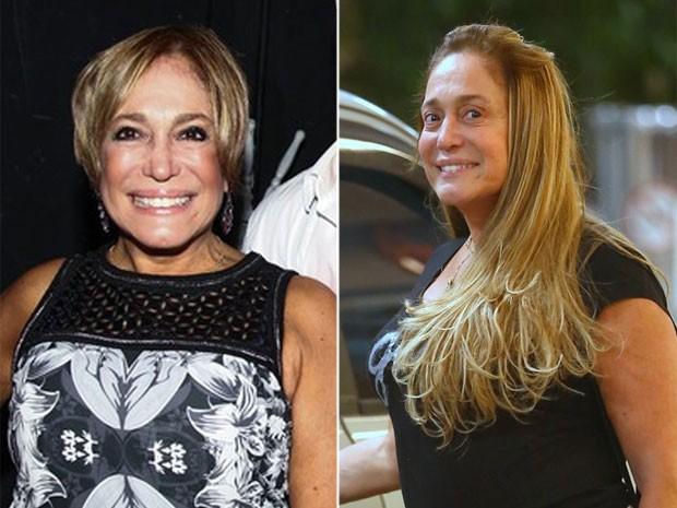 O antes e o depois de Susana Vieira (Foto: Ag. News e Manuela Scarpa/ Foto Rio News)