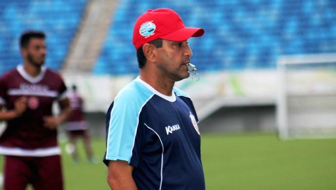América-RN - Sérgio China, técnico (Foto: Canindé Pereira/Divulgação)