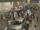 Em Florianópolis, turistas apontam soluções para aeroporto e rodoviária