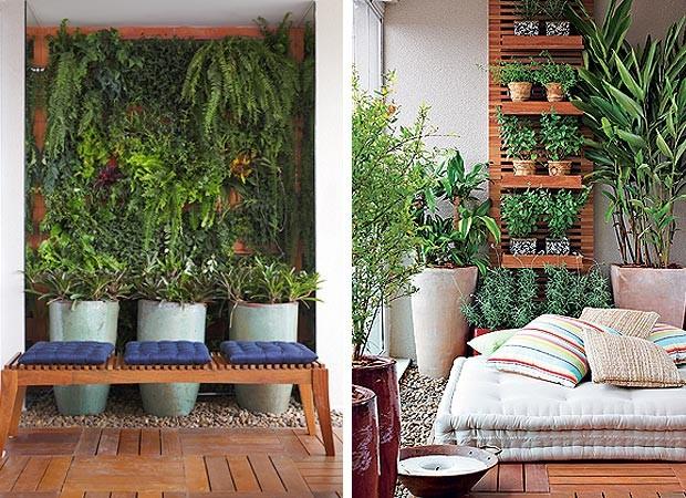 jardim vertical para varanda de apartamento:improvável em varandas – Casa e Jardim