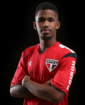 Ewandro São Paulo (Foto: Site oficial do SPFC)