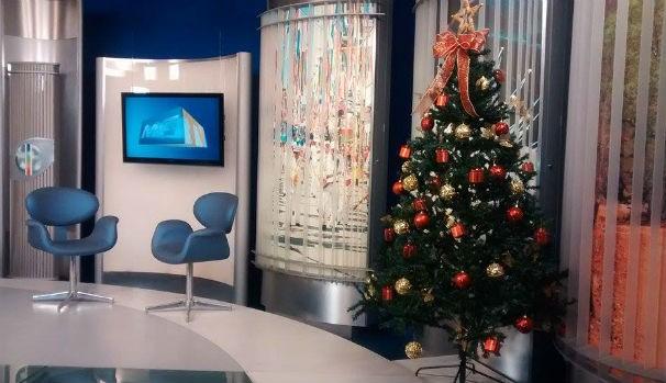Cartões e mensagens de natal vão enfeitar a árvore do MG Inter TV (Foto: Jucilene Magalhães)