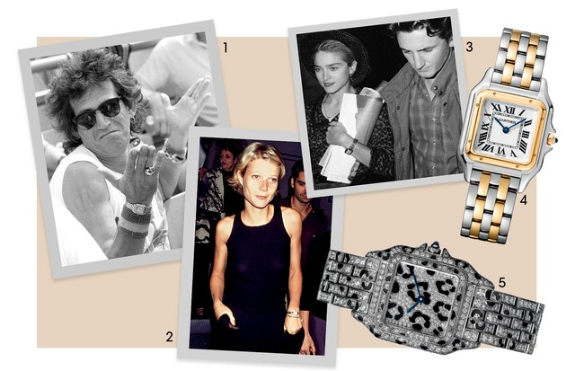 1. Keith Richards (1988) 2. Gwyneth Paltrow (1997) 3. Madonna E Sean Penn (1987) 4 e 5. R$ 32 Mil   (Foto: Deco Cury, Ron Galella, Time & Life Pictures, New York Daily News Archive/Getty Images e Divulgação)
