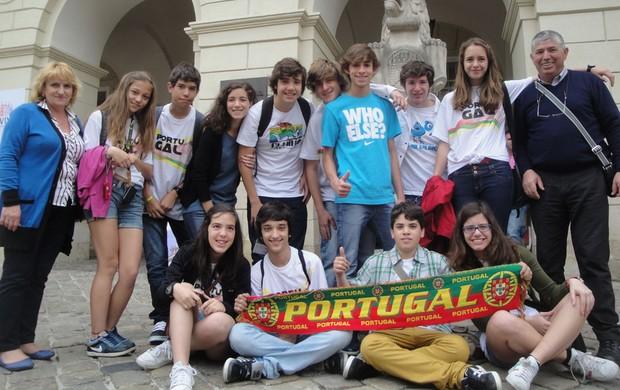 torcida portugal em Lviv eurocopa (Foto: Rafael Maranhão/Globoesporte.com)
