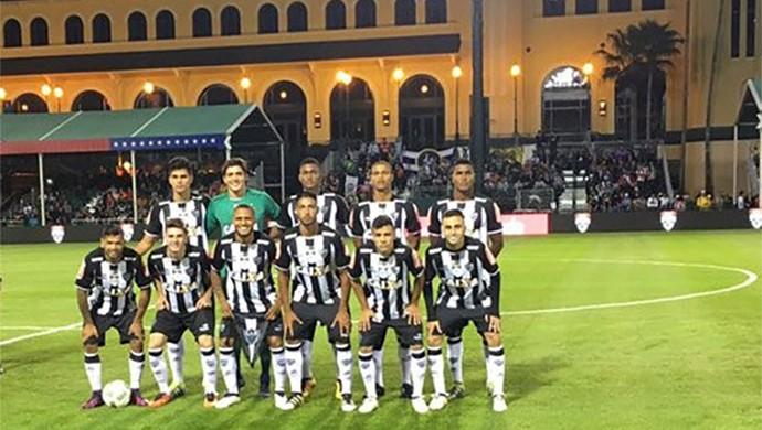 Atlético-MG antes da partida contra o Bayer Leverkusen, pelo Torneio da Flórida (Foto: Divulgação/CAM)