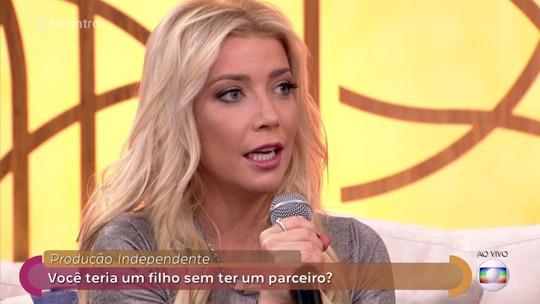 Luiza Possi comenta produção independente no 'Encontro'