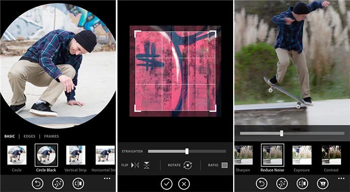 Photoshop Express é um editor de imagens gratuito para Windows Phone 8  (Foto: Divulgação