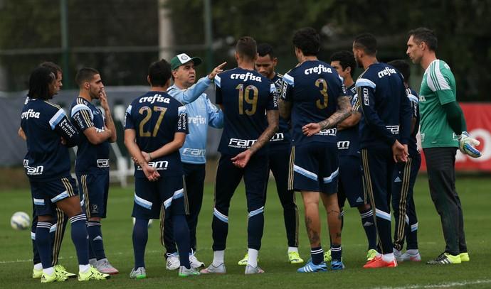 Marcelo Oliveira grupo Palmeiras (Foto: Cesar Greco/Ag Palmeiras/Divulgação)