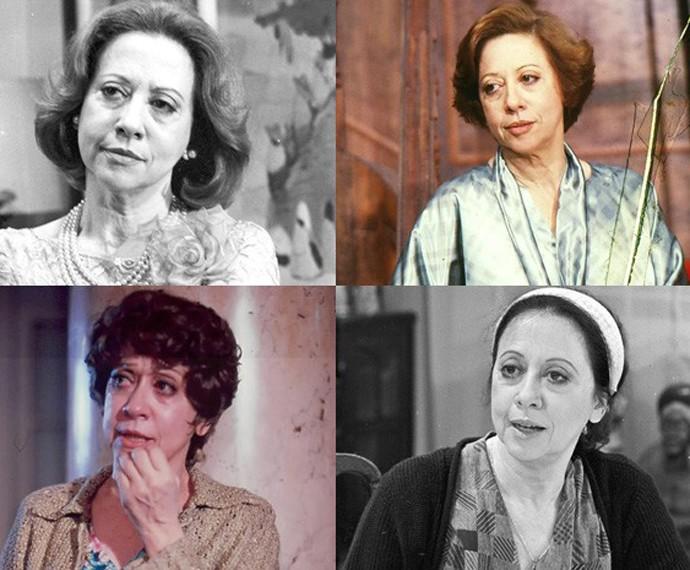 Fernanda Montenegro estreou em novelas da Globo em 1981 (Foto: CEDOC)