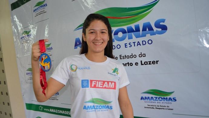 Rafaela Barbosa (Foto: Emanuel Mendes Siqueira/Sejel)