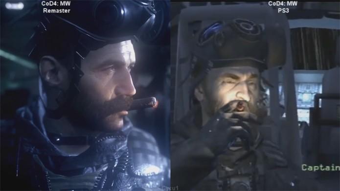 Call of Duty: Modern Warfare Remastered traz gráficos totalmente refeitos em relação ao original (Foto: Reprodução/YouTube)