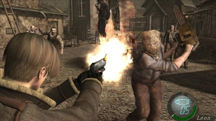 Resident Evil 4 Ultimate HD traz clássico agora em alta definição (Foto: Divulgação)