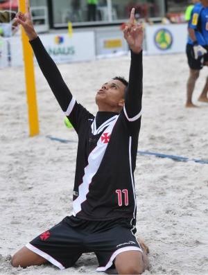 Vasco x Cruzeiro Copa Brasil de futebol de areia (Foto: Antônio Lima/Divulgação)