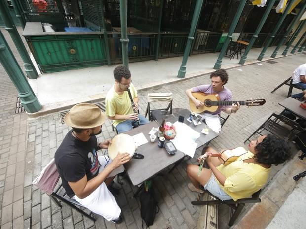 O Mercado do Choro: música compartilhada em espaços públicos de Belém e inspirados pela cidade (Foto: Marcelo Lelis)