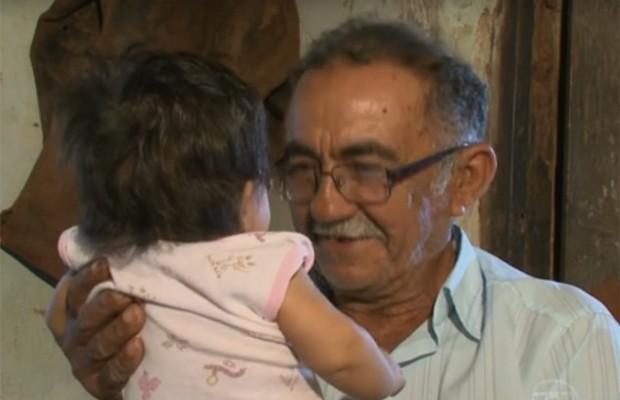 O Hora 1 mostrou a história de superação de seu Quinho (Foto: Reprodução/TV Grande Rio)