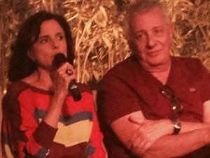 Marieta Severo e Marco Nanini dão vida ao casal Nenê e Lineu (Foto: Daniel Silveira / G1)