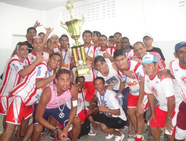 Sete de Junho foi o campeão da segundona em 2011 (Foto: Divulgação/Sete de Junho)