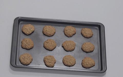 Cookies integrais de aveia e castanha