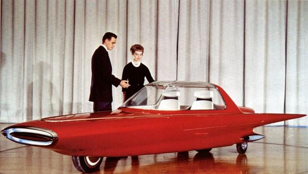 Ford Gyron 1961 era capaz de se equilibrar em apenas duas rodas (Foto: Divulgação)