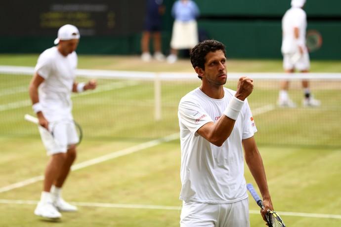 Marcelo Melo Wimbledon (Foto: Michael Steele / Staff)