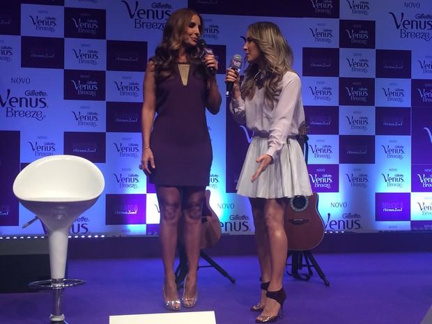 Claudia Leitte e Ivete (Foto: EGO)