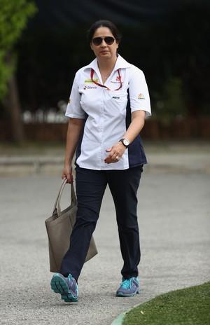 Monisha Kaltenborn, chefe da Sauber (Foto: Getty Images)