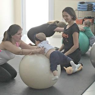 Baby Pilates euatleta (Foto: Divulgação)