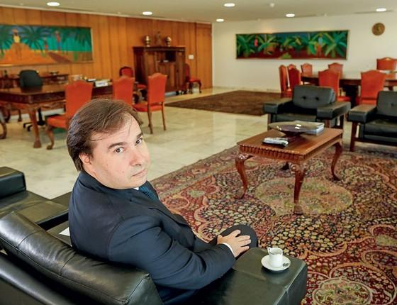 Rodrigo Maia presidente da Câmara (Foto:   Sérgio Lima / Editora Globo)