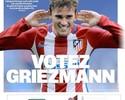 Griezmann reforça campanha de jornal para ser o terceiro na Bola de Ouro