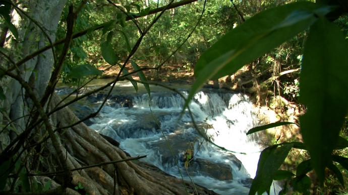 Cachoeira Meu MS (Foto: TV Morena)