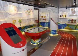 Museu Itinerante das Olimpíadas (Foto: Divulgação)