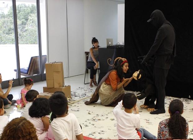 Música e teatro são grandes aliados durante as apresentações (Foto: Divulgação)