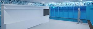 Arena tem quatro vestiários Fifa. Mergulhe no projeto inovador (Divulgação / Grêmio)