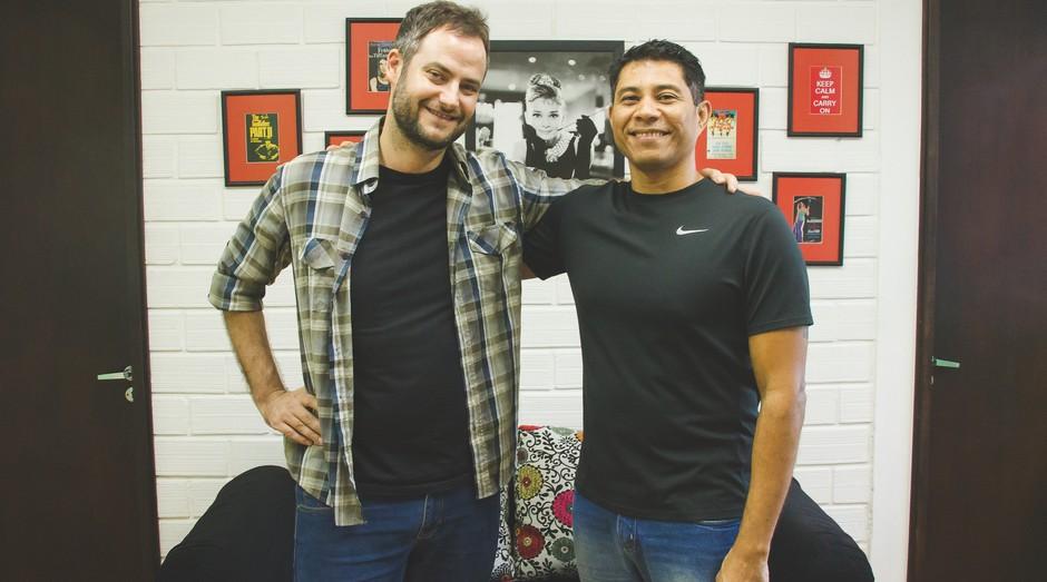 Maurício, à esquerda, e Rafael, sócios da MasterEnglish (Foto: Divulgação)