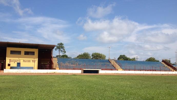 Estádio João Saldanha, em Guajará-Mirim (Foto: Júnior Freitas)