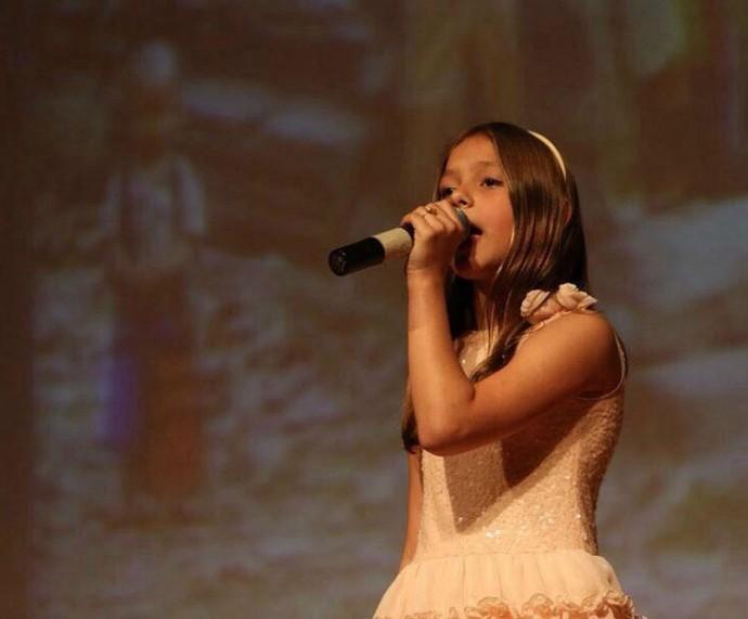 Laura Schadeck The Voice Kids (Foto: Arquivo Pessoal)