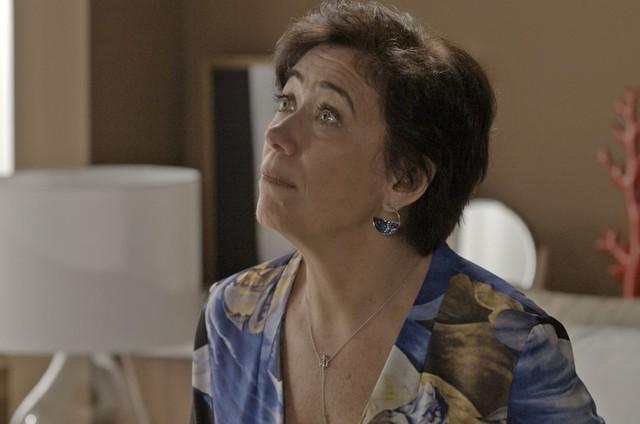 Lilia Cabral é Silvana em 'A força do querer' (Foto: Reprodução)