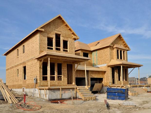 Imoveis casa construção (Foto: Shutterstock)